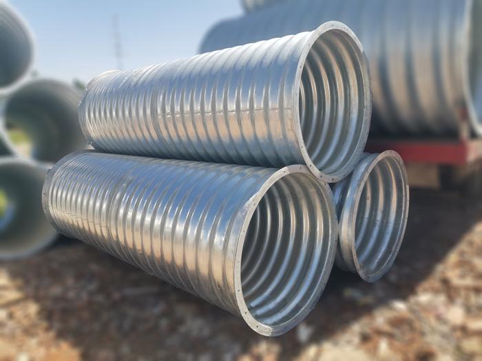 镀锌金属波纹管整装波纹涵管