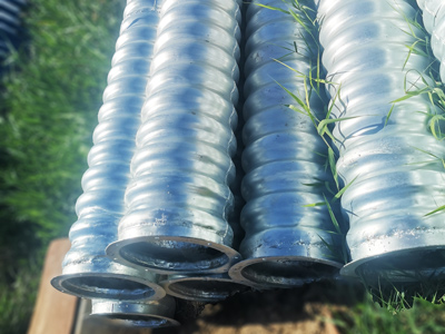 直径0.4米镀锌波纹涵管|钢波纹管