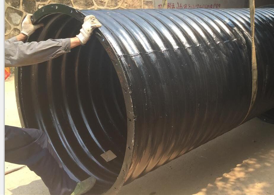 q345整装金属镀锌钢波纹涵管