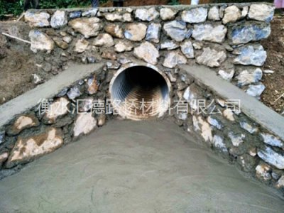 新疆昌吉市村村通波纹管道工程