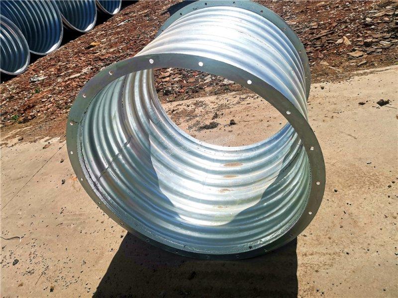 直径1米长1米短接整装金属波纹涵管