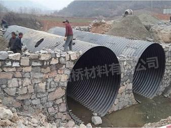 云南省文山州广南县乡村路钢波纹涵管改造工程